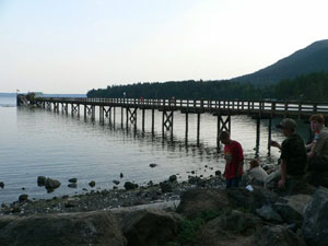 The longest pier in BSA