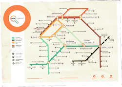 Wine Tube Map