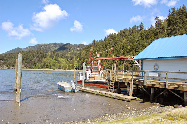 Behind the retail store at Taylor Shellfish Farm. / Credit: Bellingham Whatcom County Tourism
