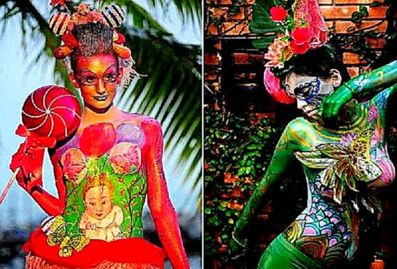International Body Art Competition On Thailand   Atheist Universe