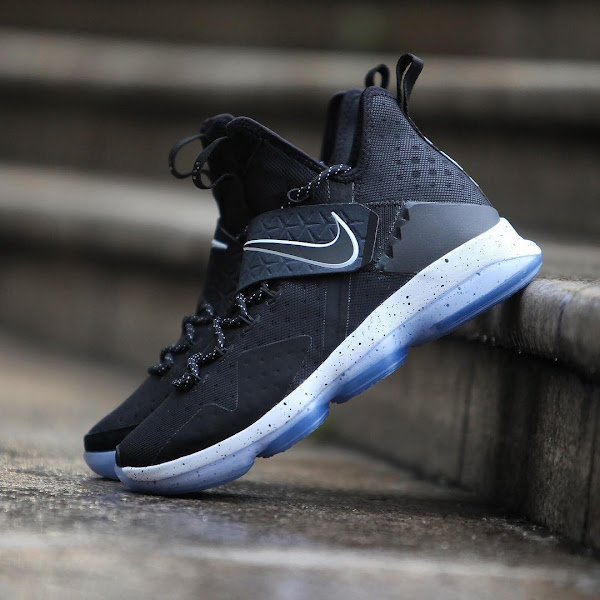 Get Up Close and Personal With Nike LeBron 14 Black Ice 921084002