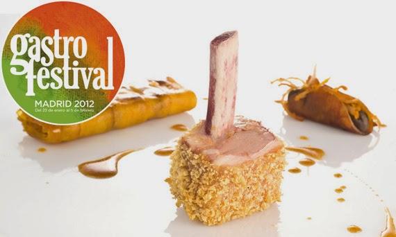 Experiencias Sensoriales en el Gastrofestival Madrid 2012. Establecimientos participantes