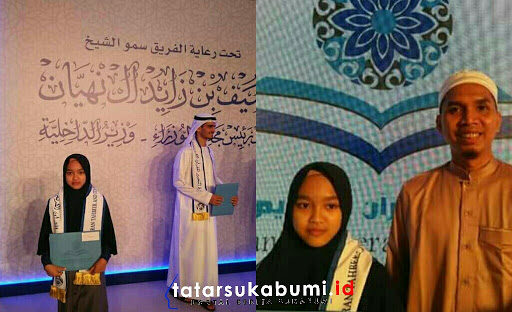 Juara 3 Tilawah Alquran di Uni Emirat Arab, Gadis Jampang Berprestasi di Kancah Internasional