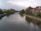 Ο ποταμός Regniz που διασχίζει το Bamberg