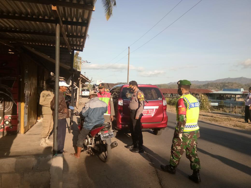 Operasi Masker, Petugas Gabungan Jaring 52 Pelanggar di Rowo Jombor