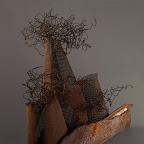 Esculturas en chatarra