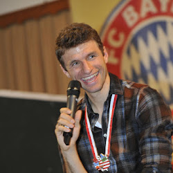 27.11.2016 Fanclubbesuch Thomas Müller