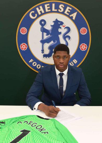 17-year-old Nigerian goalkeeper, Prince Adegoke joins Chelsea FC