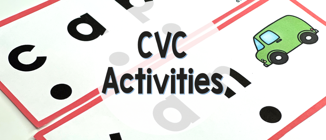 CVC Activities to build phonemic awareness