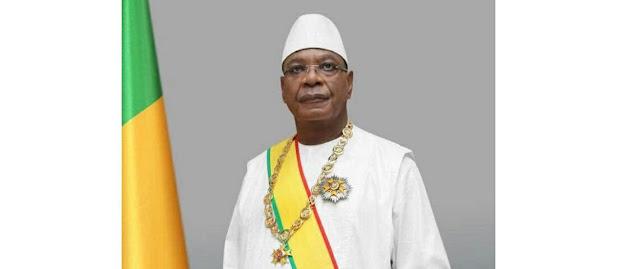 كايتا ينصب رسميا رئيسا لجمهورية مالي