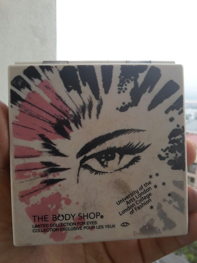 Dah expired Body Shop Limited Collection For Eyes