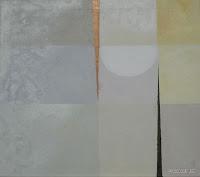 """Der Beginn"", Öl auf Leinwand, 68x60, 2008"