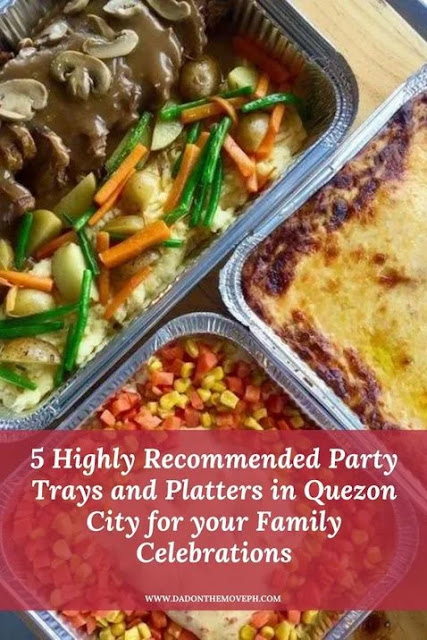 Food and party tray suppliers in Quezon City