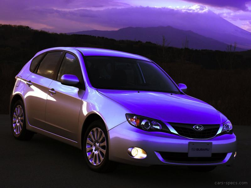 2008 subaru impreza hatchback specifications pictures prices. Black Bedroom Furniture Sets. Home Design Ideas