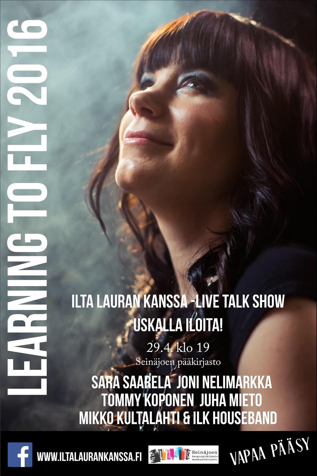 Learning to Fly: Uskalla iloita! 29.4.2016, Seinäjoki, Pääkirjasto - ILK%2BSein%25C3%25A4joki.jpg