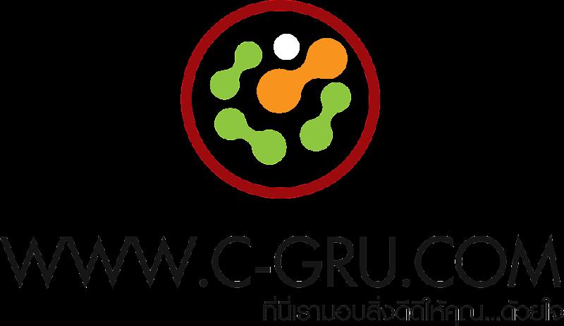เทคนิคการทำภาพ Logo แนวลายปักเสมือนจริง C-GRU-Logo