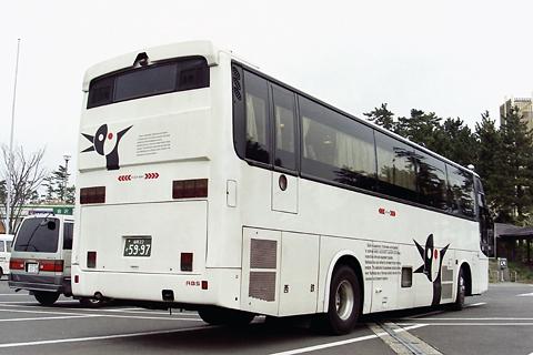 西日本鉄道「加賀号」 3146 リア