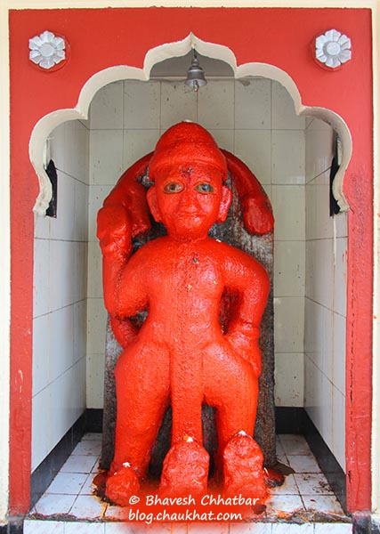 Hanuman Temple of Shinde Chhatri