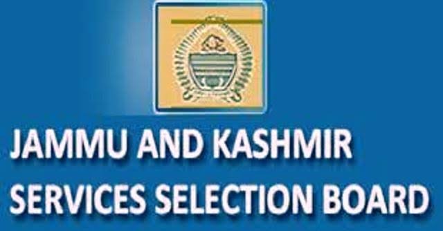 JKSSB - Syllabi for various posts, (Health & Medical Education) Released | Download Here