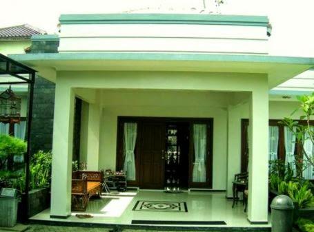 gambar rumah bagian depan gallery taman minimalis