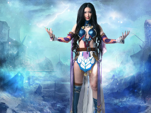 """""""Mãn nhãn"""" với cosplay của Thương Khung Chi Nộ 6"""
