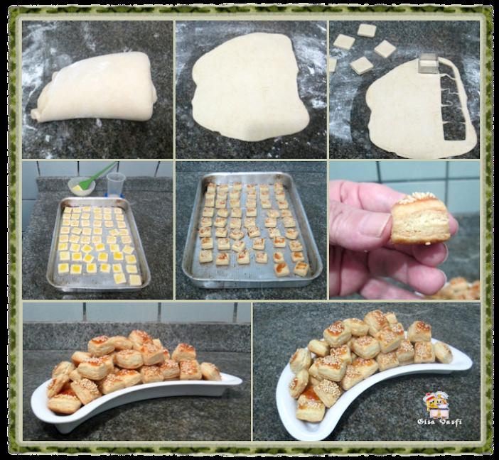 Croissant com massa folhada 8