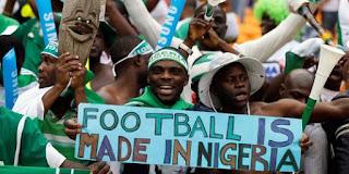 Les supporteurs nigerians célébrant leur troisème trophée continental, gagné en Afrique du Sud/ Ph. Droits Tiers.
