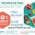 Super Weekend Sale Flat Rs.150 Discount and 40% Cashback on all Groceries