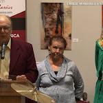 Juan Grecos presentó la exposición y a los artistas que nos mostraron sus obras.