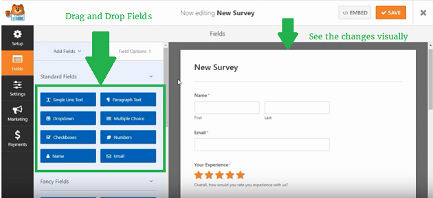 wpforms-survey-form-field-settings