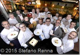 Napoli ( Romeo hotel ) 01 Dicembre 2015<br />Chef stellati si incontrano a Napoli per presentare i dolci delle feste di Natale.<br />Ph: Stefano Renna<br />