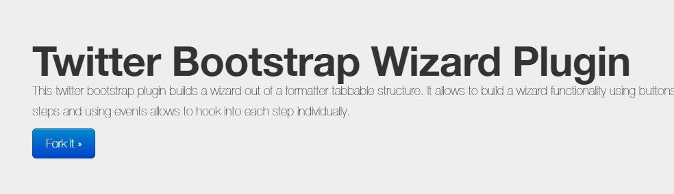 Twitter Bootstrap Wizard