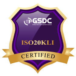 Certification Badge for ISO 20000 Lead Implementer