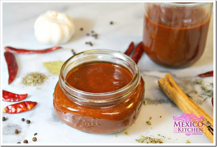 Mexican Adobo Sauce | Dried Pepper Sauce | Authentic Mexican Recipe by Mexico in My Kitchen