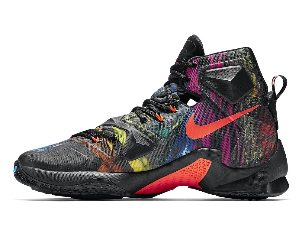 competitive price a6395 8d0ba ... Release Redminer Nike LeBron XIII Akronite Philosophy ...