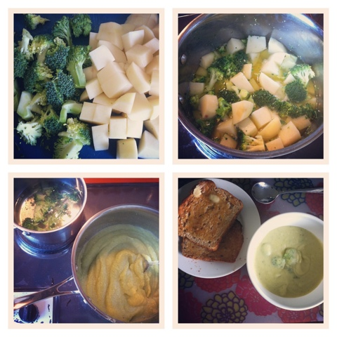 Creamy Broccoli Soup - Just For Daisy
