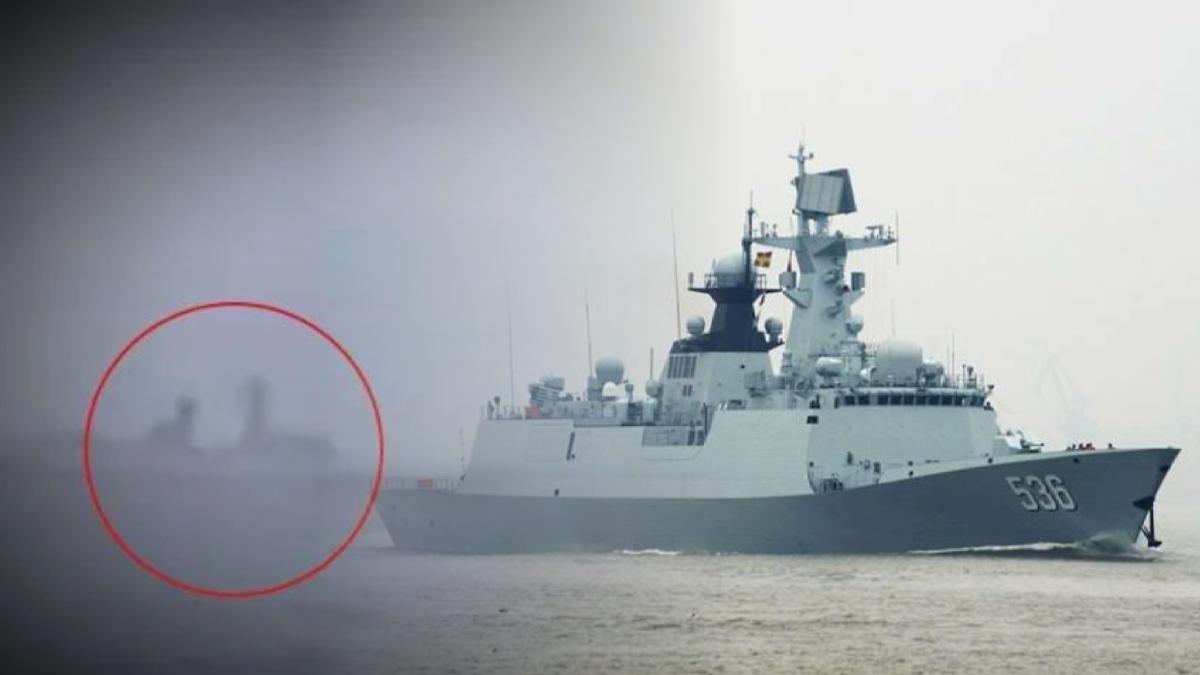 Kapal Perang Militer China Kepergok TNI Terobos Laut Indonesia