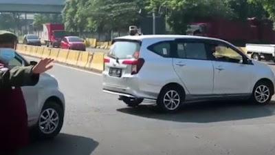 Terjaring Penyekatan di KM 34 Tol Capek, 4 Pemudik asal Cirebon Reaktif Covid-19