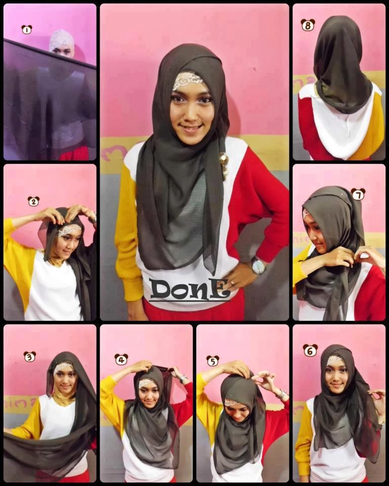 latest hijab tutorial for 2015 2016 style