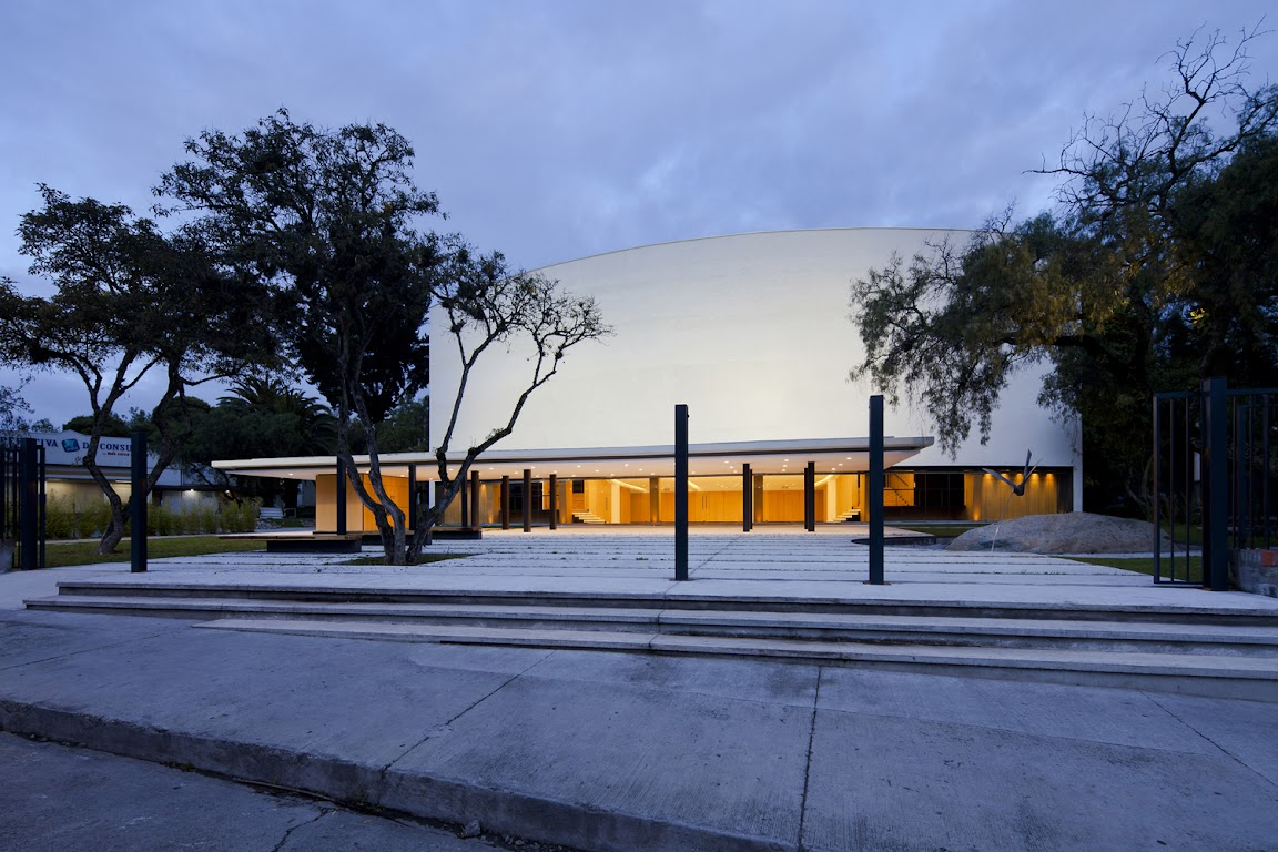 University of Cuenca Theater design by Javier Durán