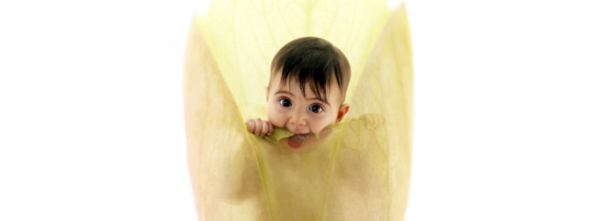 Anne Geddes cute baby facebook cover