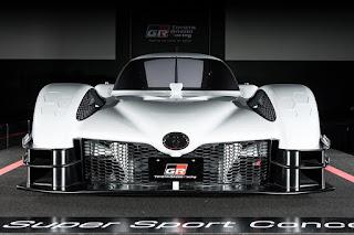 Sneak peek at Toyota's 986-horsepower GR SuperSport LMP1 supercar concept