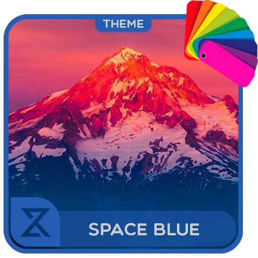Theme XPERIEN™ - Space Blue app (apk) free download for Android/PC/Windows