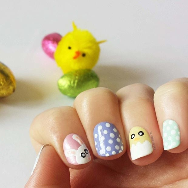 15 Cute Nail Designs For Spring And Summer For 2015 2016 Fashionte