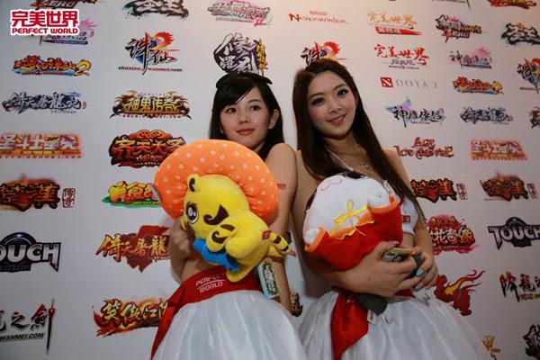 Ngắm dàn mỹ nữ của Perfect World tại ChinaJoy 2013 15
