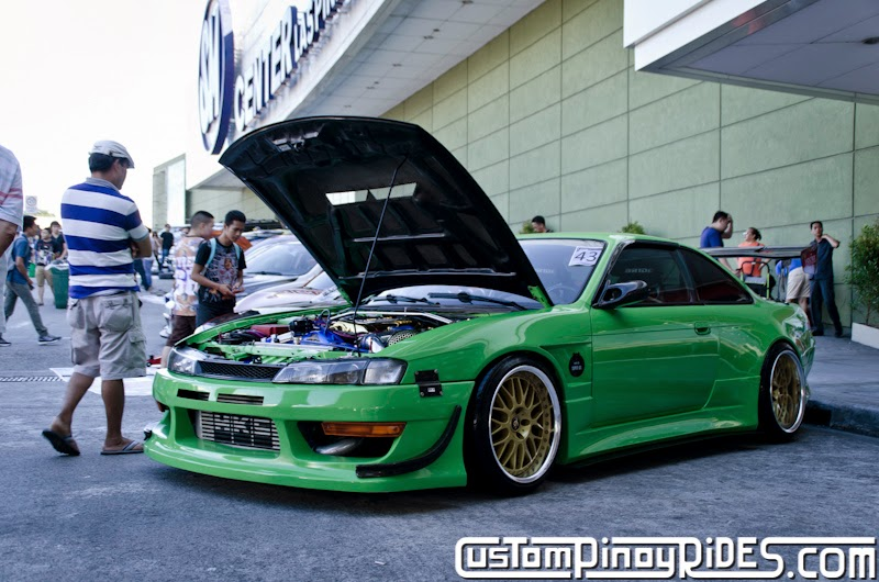 Mean Green Nissan S14 Silvia Custom Pinoy Rides Car Photography Philippines Philip Aragones THE aSTIG pic6
