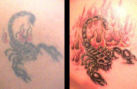 Galeria Tatuazy Tatuaz Skorpion
