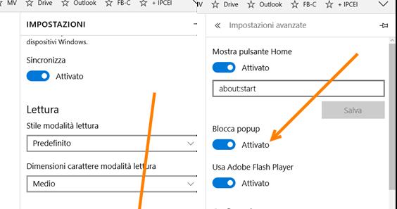 Come bloccare l 39 apertura di popup da tutti i browser ipcei - Bloccare apertura finestre chrome ...