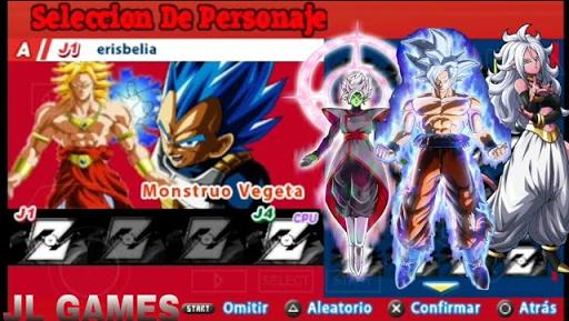 SAIUU!!! NEW MENÚ + ISO MOD TENKAICHI TAG TEAM DRAGON BALL SUPER GOKU MIGATTE NO GOKUI JIREN (PSP)
