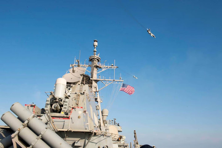 Video: Russian jets buzz U.S. Navy vessel; Obama does nothing